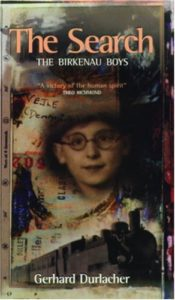 The best books on Auschwitz - The Search: The Birkenau Boys by Gerhard Durlacher