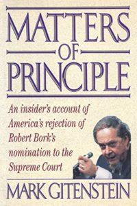 The best books on Joe Biden - Matters of Principle by Mark Gitenstein