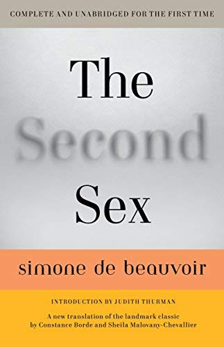 The Best Simone de Beauvoir Books - The Second Sex by Simone de Beauvoir