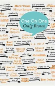 The best books on Rock and Roll - One on One by Craig Brown