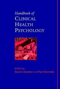 The best books on Clinical Psychology - Handbook of Clinical Health Psychology by Susan Llewelyn