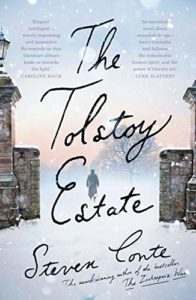 The Best Historical Fiction: The 2021 Walter Scott Prize Shortlist - The Tolstoy Estate by Steven Conte