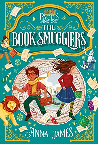 The Book Smugglers by Anna James & Paola Escobar (illustrator)
