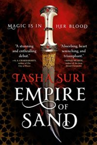 The Best Mythopoeic Fantasy - Empire of Sand by Tasha Suri