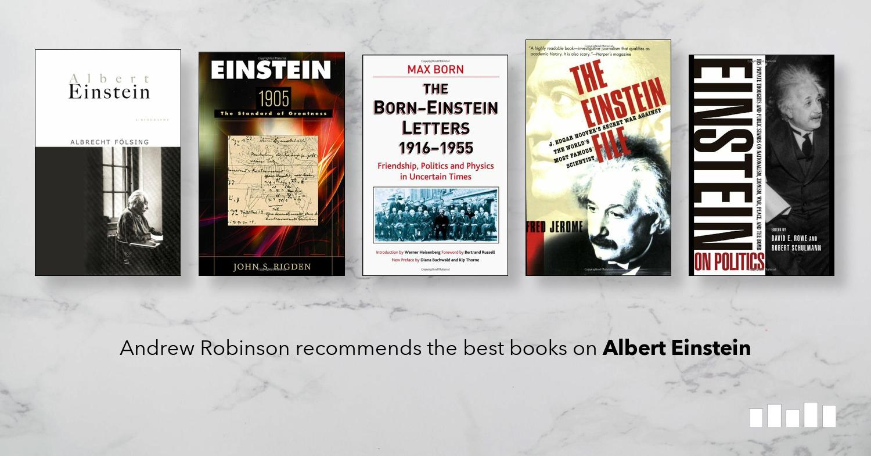 The Best Books on Albert Einstein   Five Books Expert