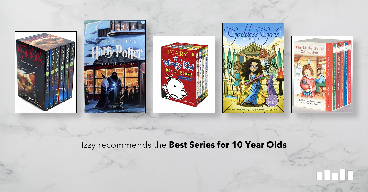 The Best Series For 10 Year Olds Five Books