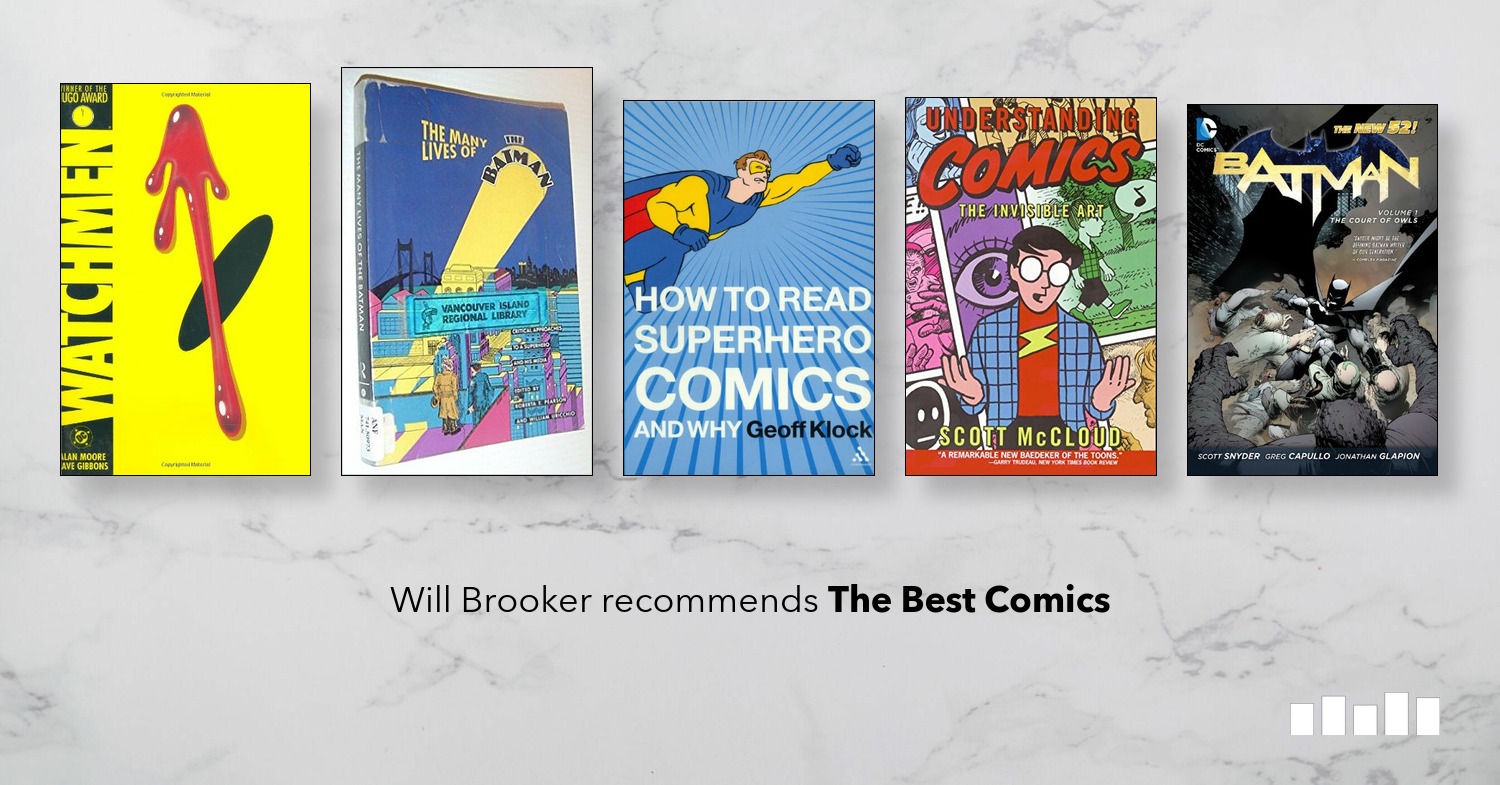 The Best The Best Comics   Five Books Expert Recommendations