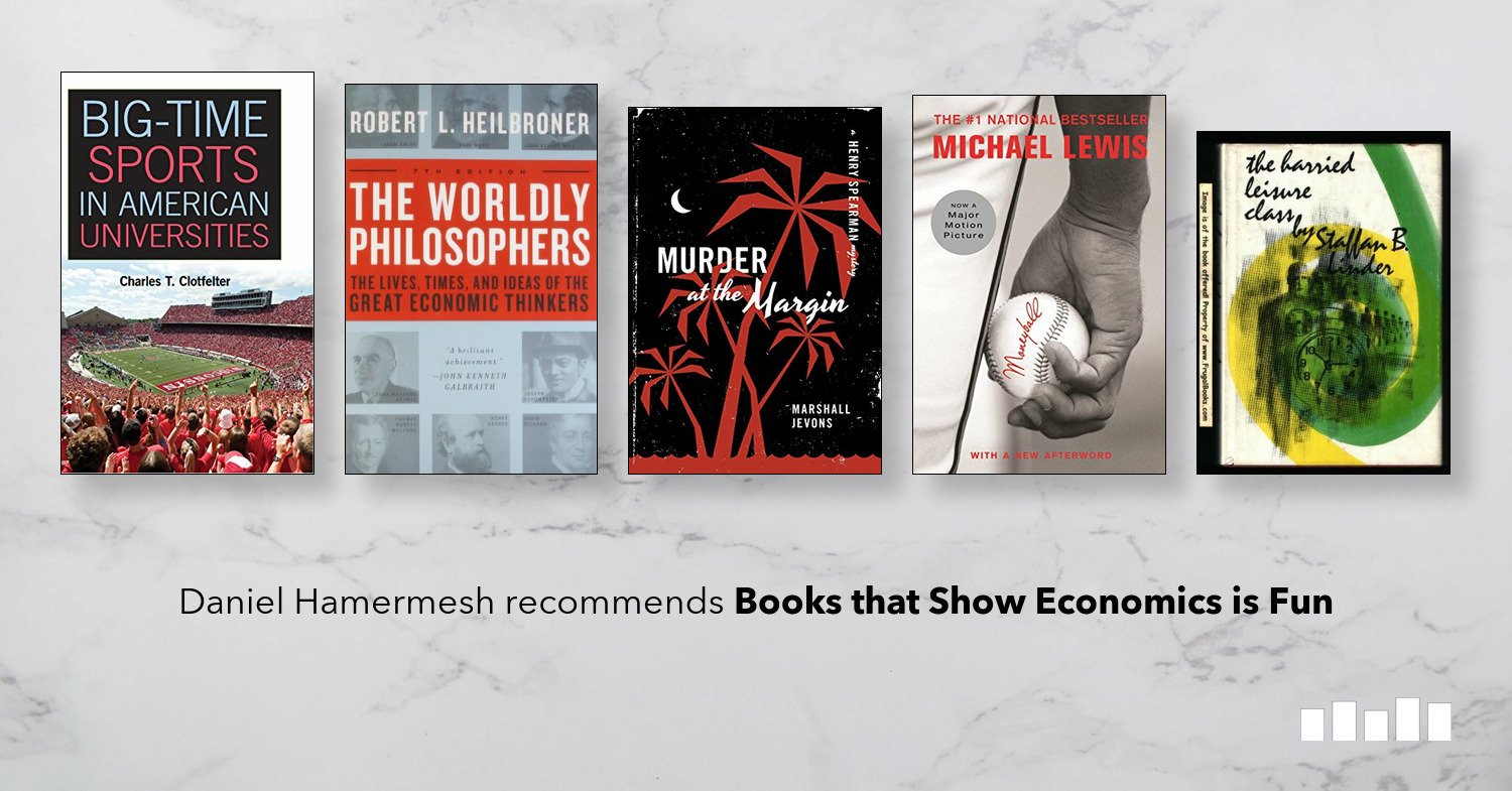 Books that Show Economics is Fun | Five Books Expert
