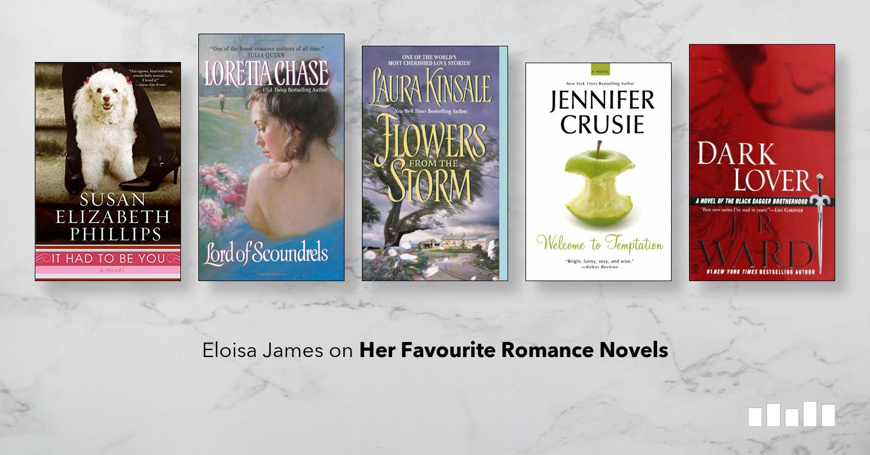 Eloisa James on Her Favourite Romance Novels   Five Books