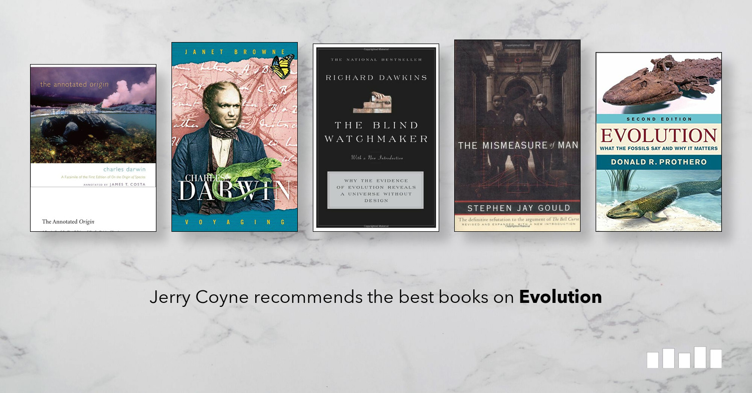Five Books: The best books on Evolution, recommended by Jerry Coyne