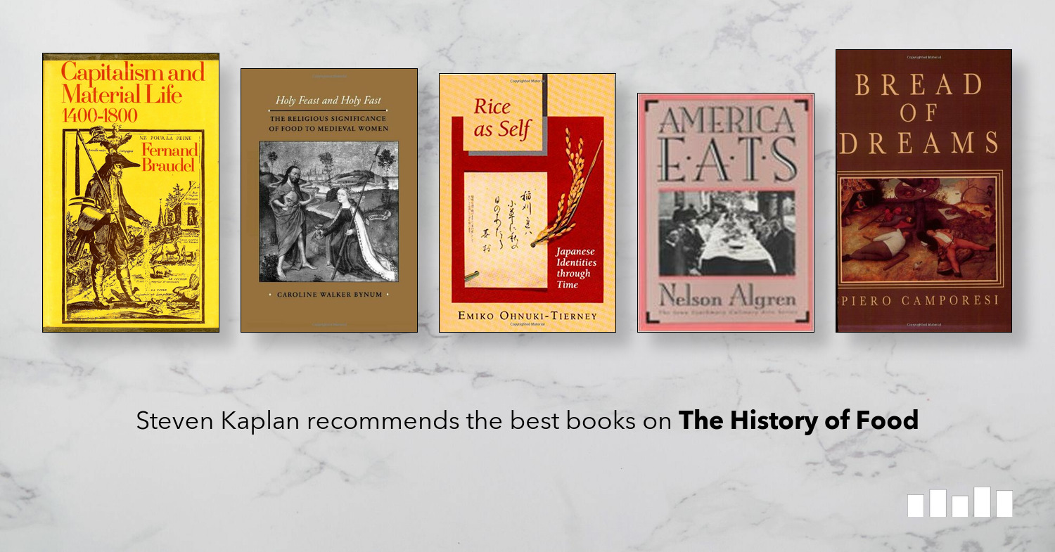 The Best Books on The History of Food | Five Books Expert