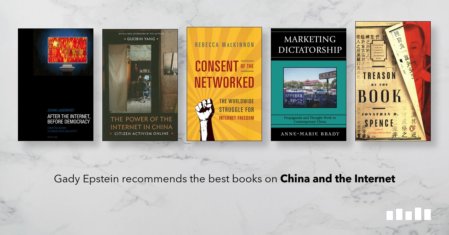 The best books on China and the Internet - a Five Books