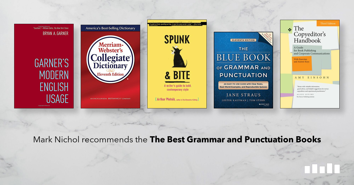 The Best Grammar and Punctuation Books | Five Books Expert