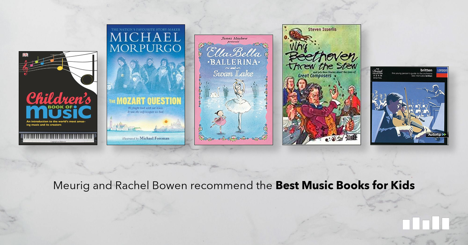 The Best Music Books for Kids | Five Books
