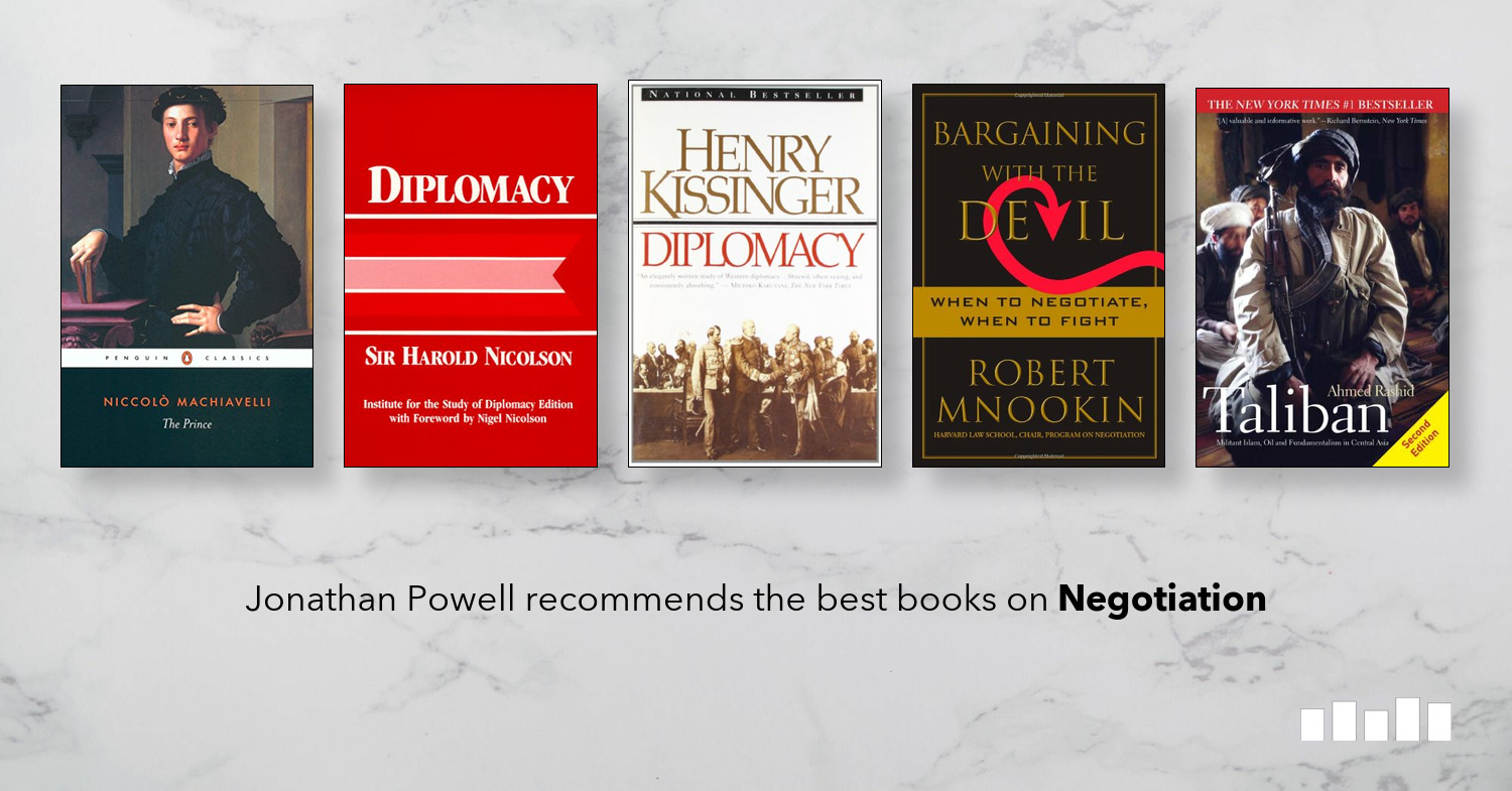 The Best Books on Negotiation | Five Books Expert Recommendations