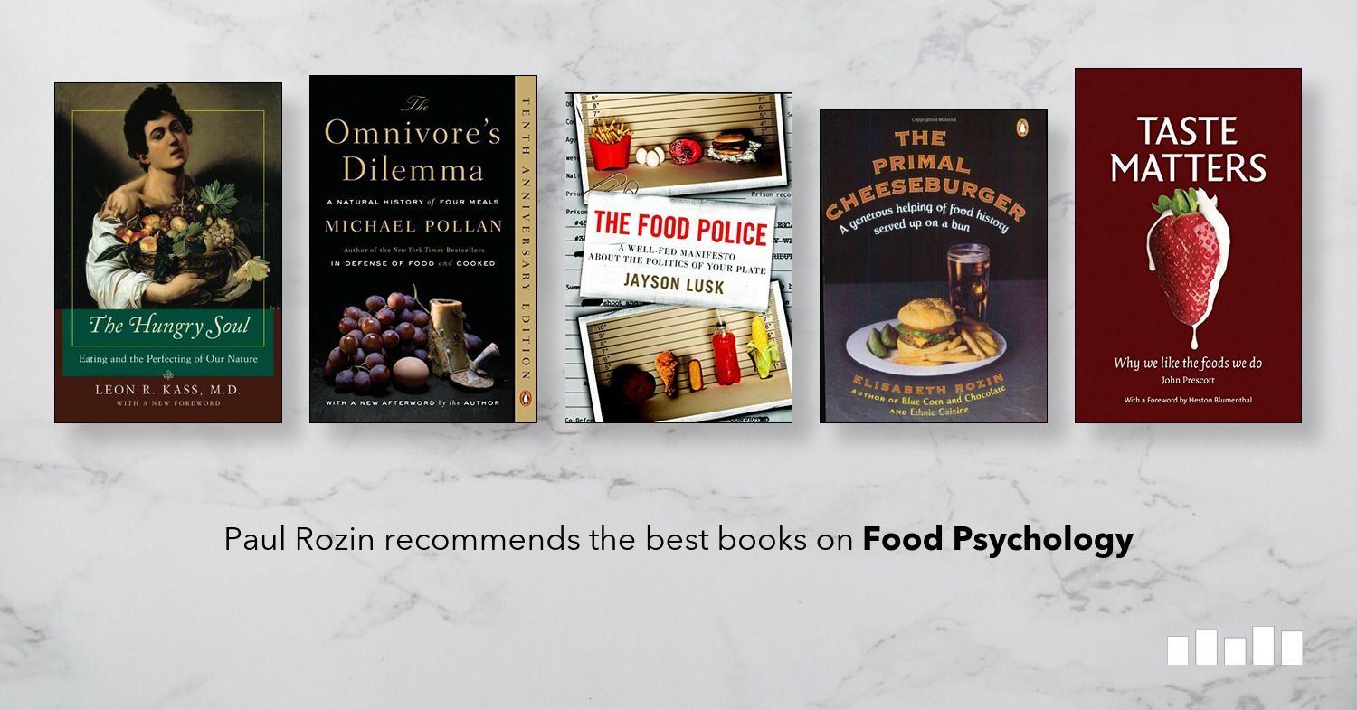 The best books on Food Psychology