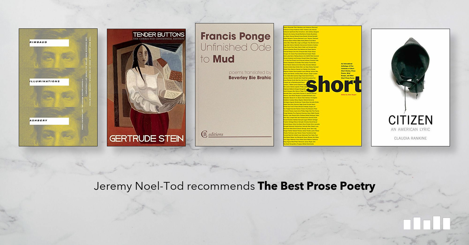 The Best Prose Poetry | Five Books Expert Recommendations