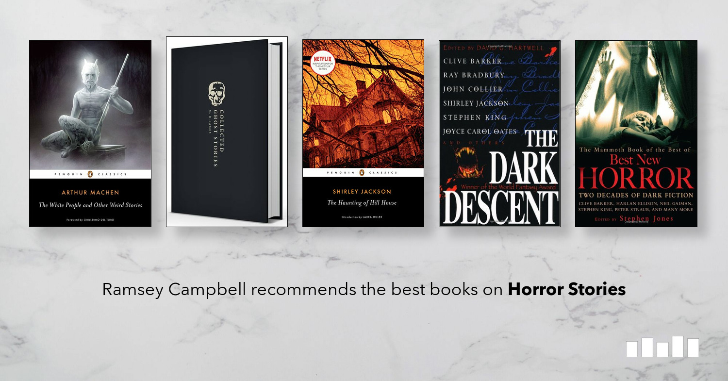 The Best Books on Horror Stories | Five Books Expert Recommendations
