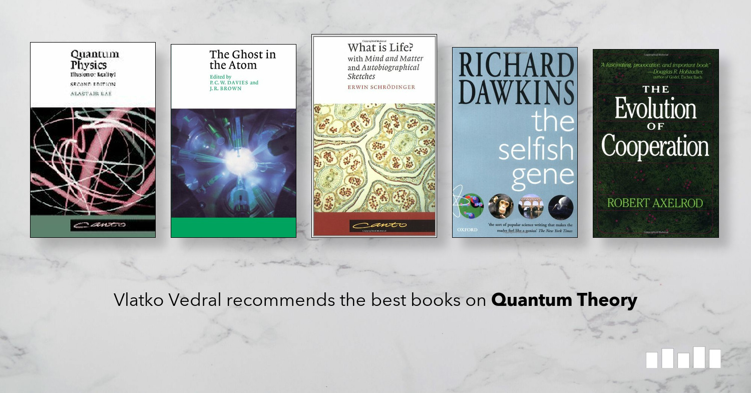 The Best Books on Quantum Theory | Five Books Expert Recommendations